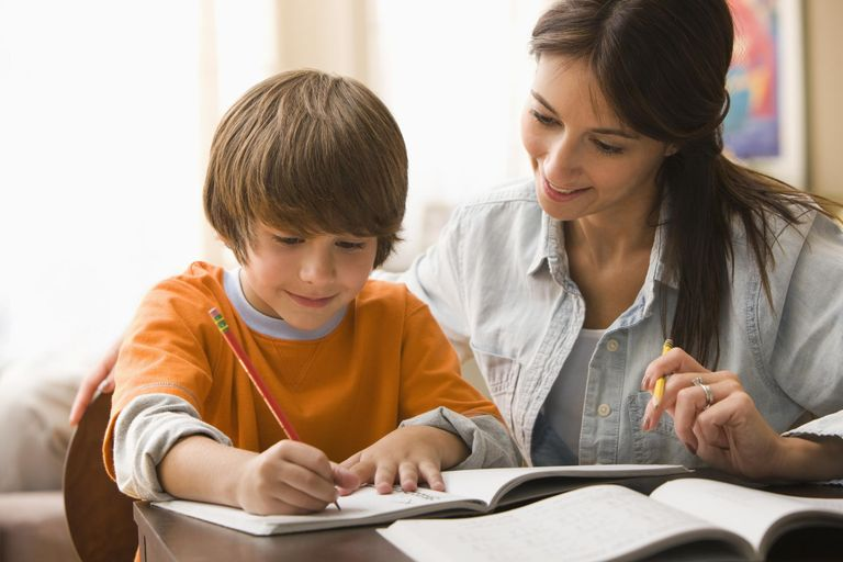 How parents can help their child with homework