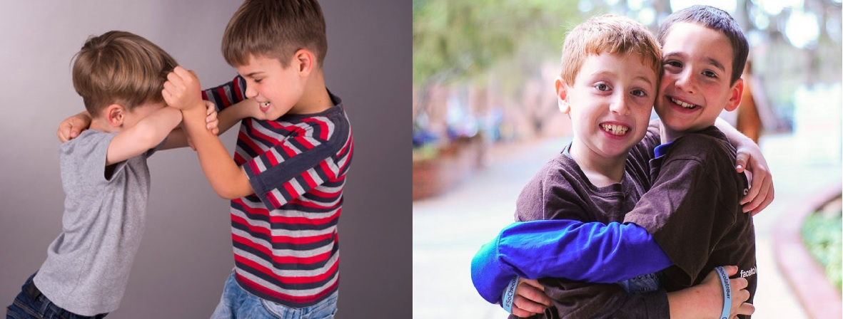 Parenting Tip: Changing your child's behavior from hitting to hugging.